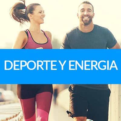 deporte y energia con suplementos