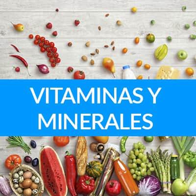 suplementos con vitaminas y minerales