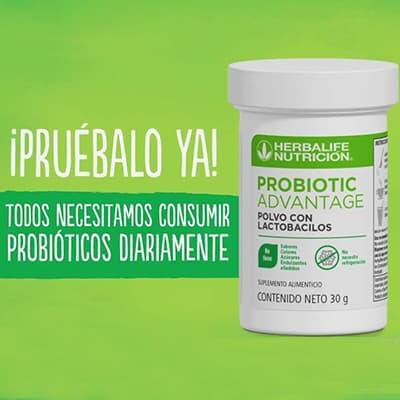 probioticos herbalife